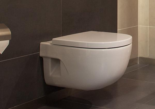 Een toilet wc laten plaatsen in en om ommen
